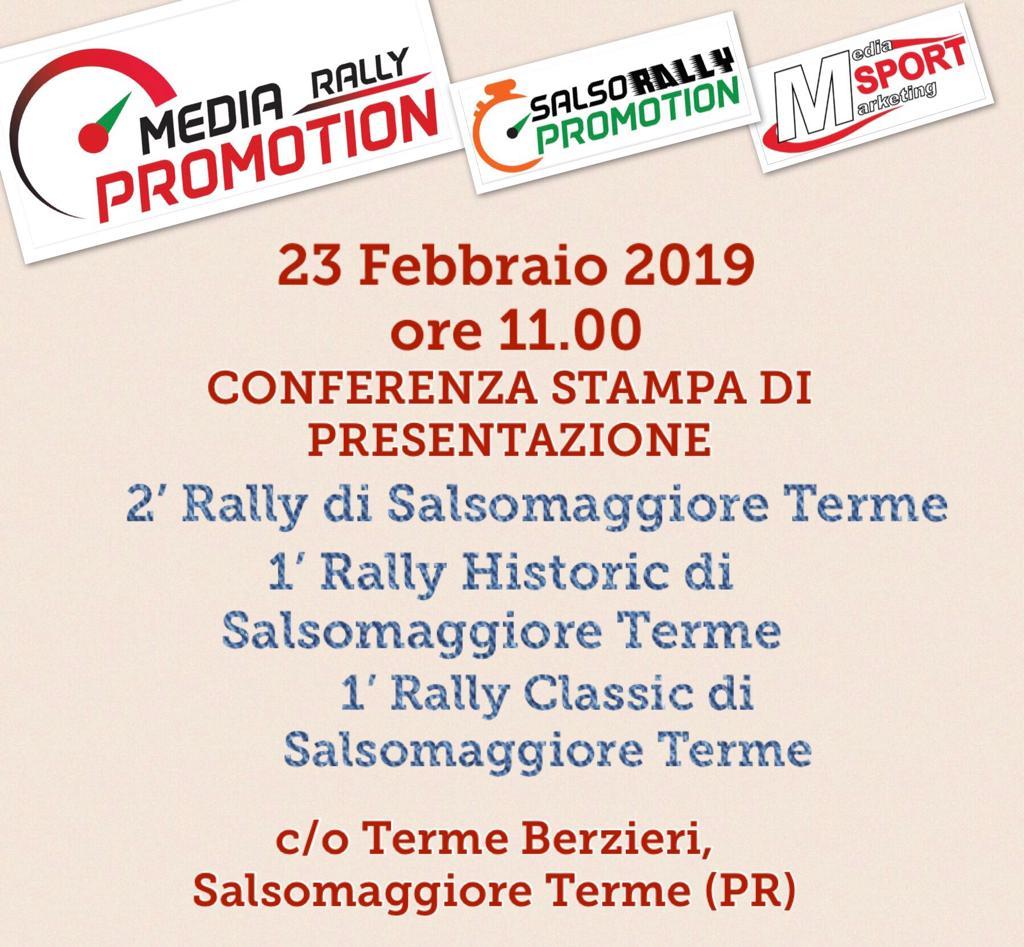rally di salsomaggiore 2019